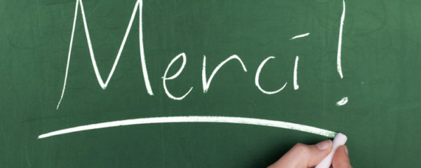 mot de remerciement aux enseignants